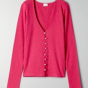 Wilfred Pearl Button Up Top